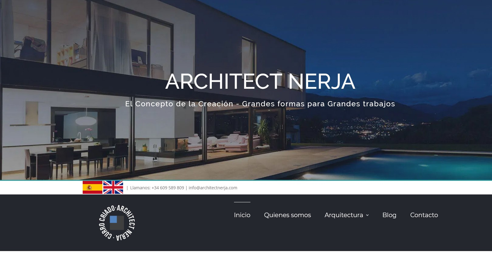 Architect Nerja web