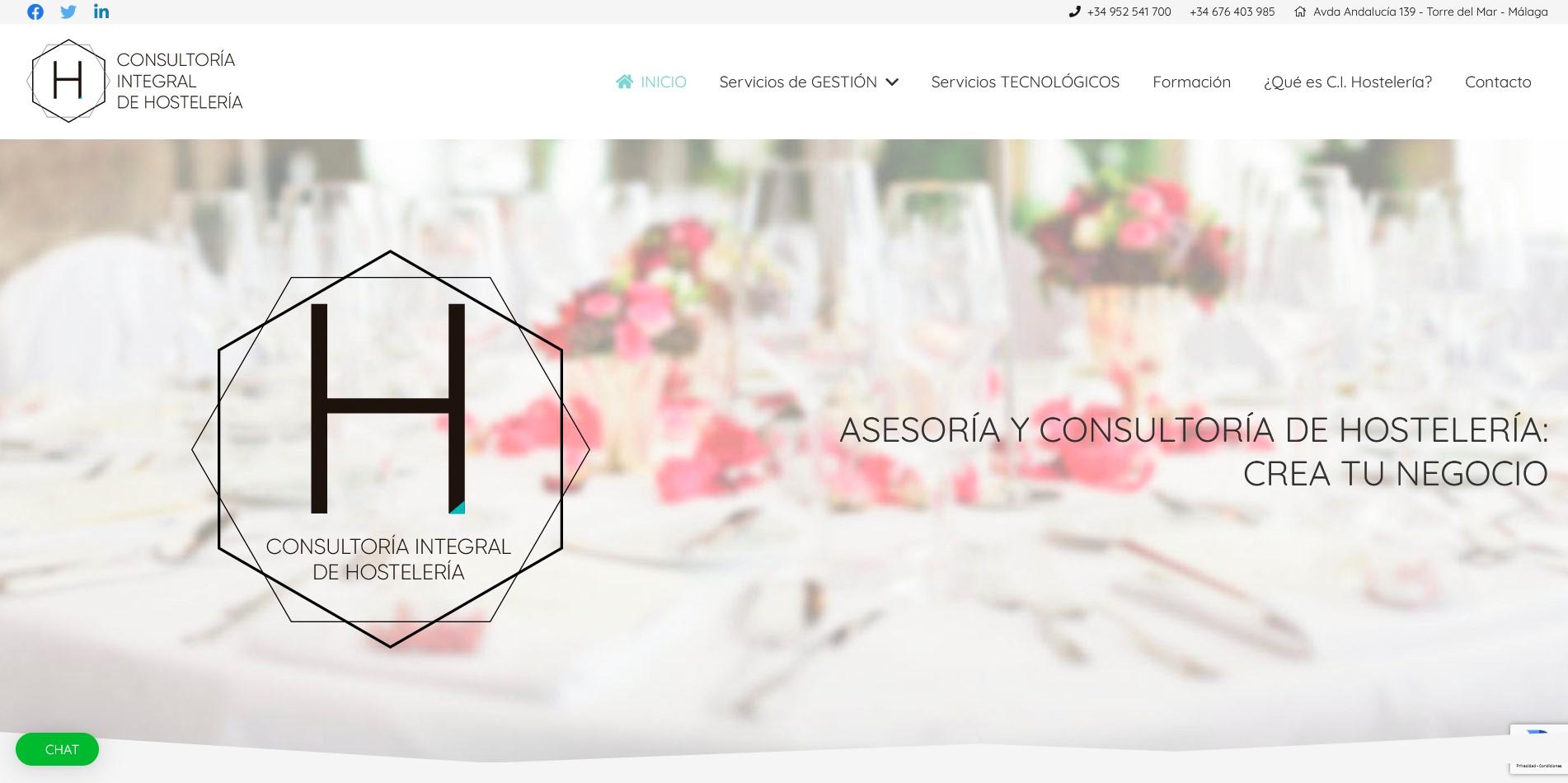 Consultoria Integral de Hosteleria web