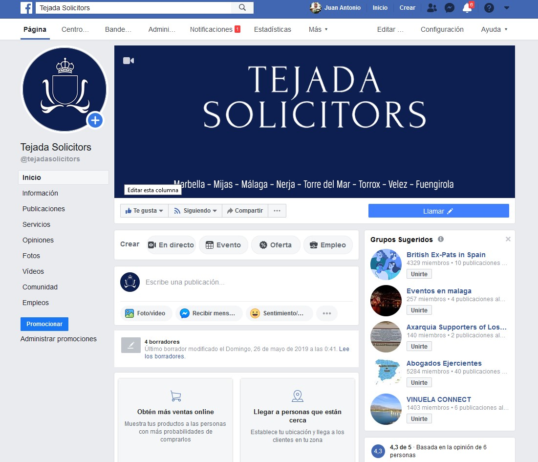 tejada solicitors facebook